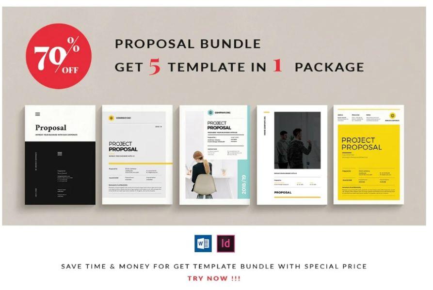 Company Proposal Brochure Bundle