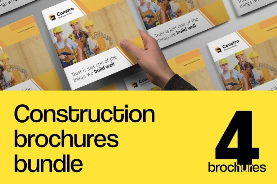 Construction Brochures Bundle