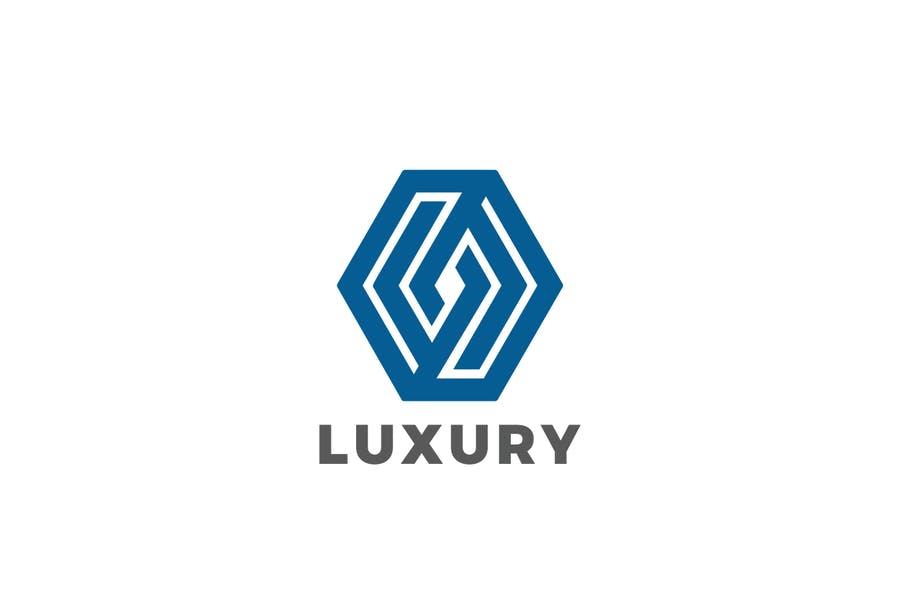 Corporate Hexagon Logotype