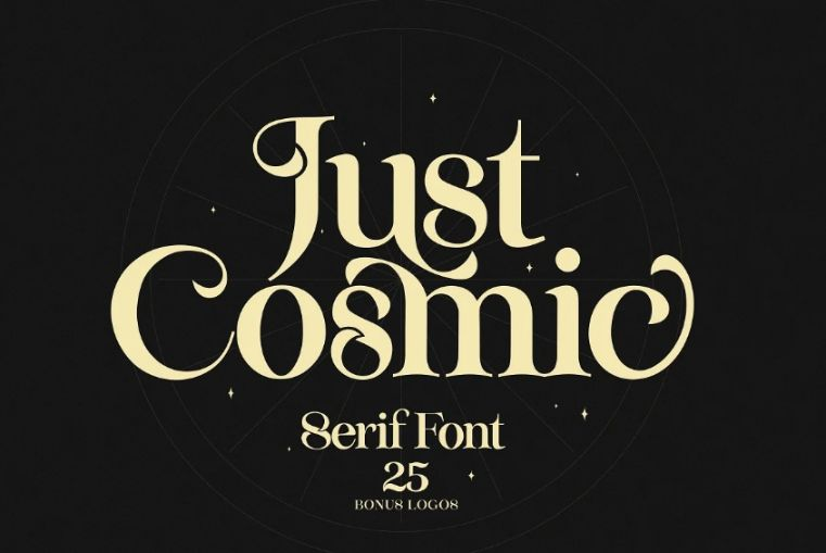 Cosmic Star Typeface