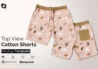shorts mockup psd