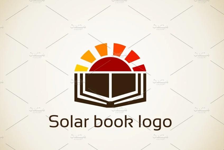 Creative Book Logo Idea