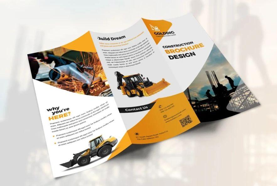 Creative Construction Company Brochure