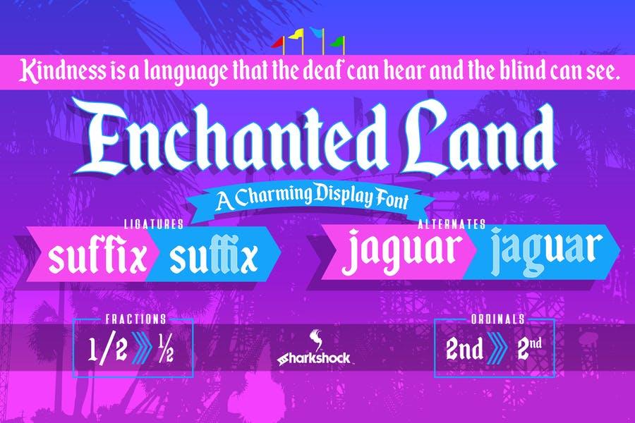 Creative Disney Typeface