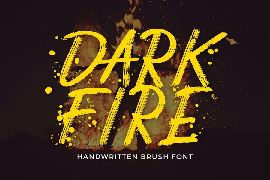 Creative Handwritten Brush Fonts