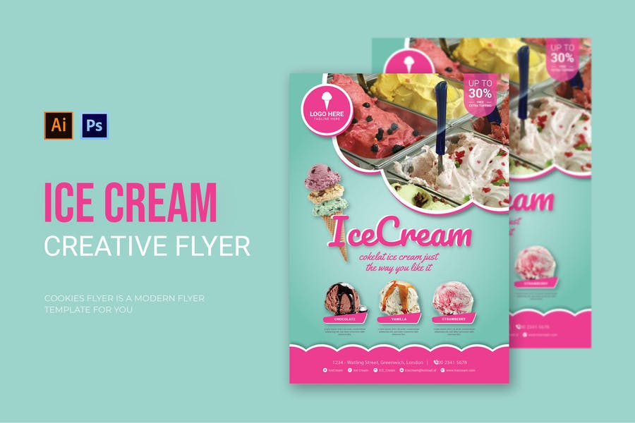 Creative Promotional Flyer