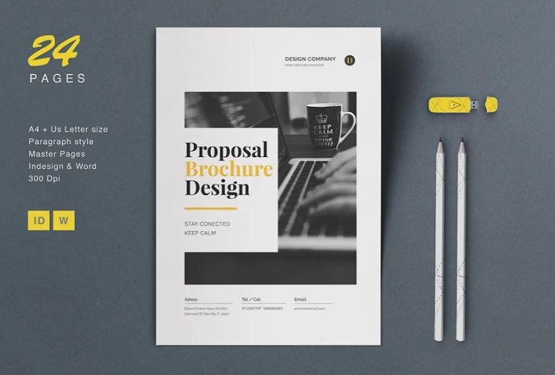 Creative Proposal Brochure Template