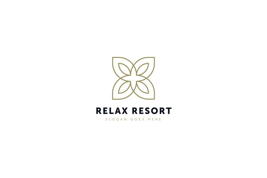 Creative Resort Logo Template