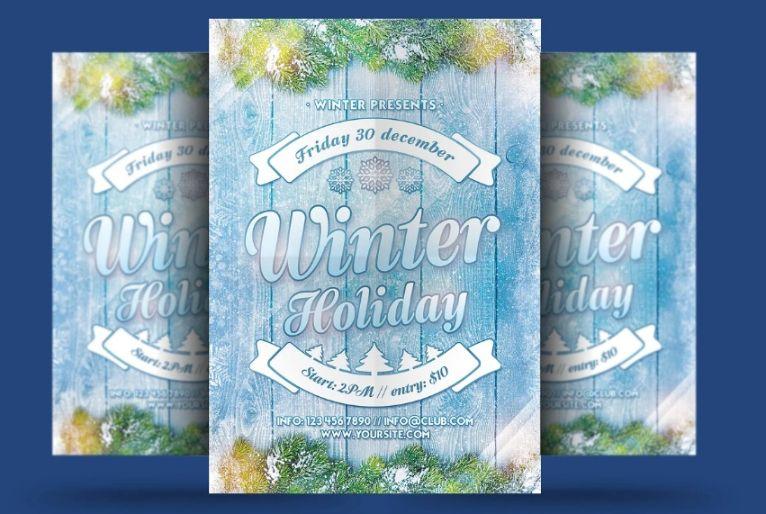 Creative Winter Holiday Invite