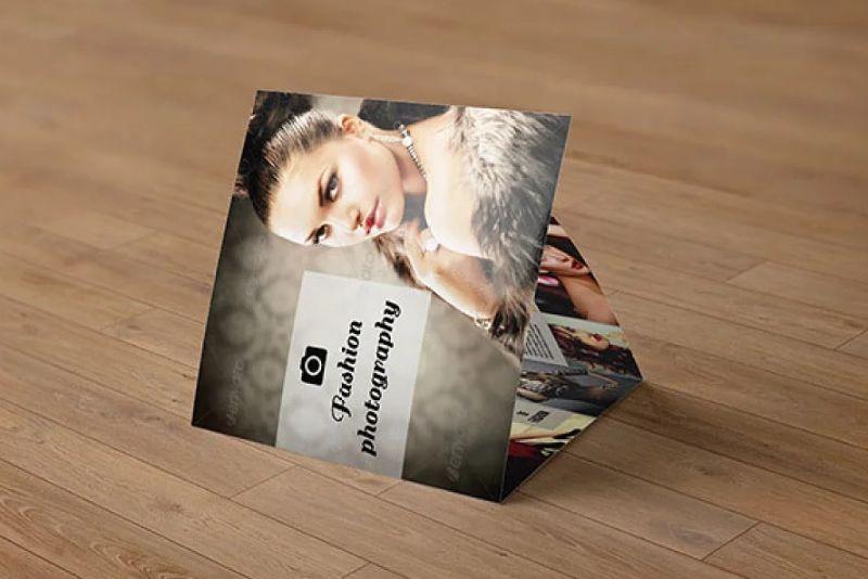 Customizable 3 Fold Photography Brochures