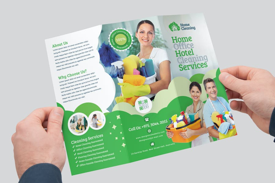 Customizable Cleaning Services Brochure