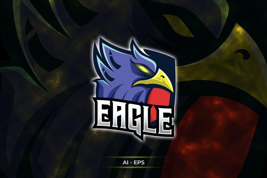Customizable Eagle Logo