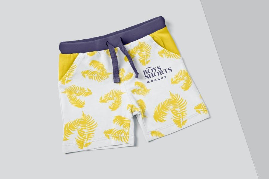 Customizable Shorts Design PSD