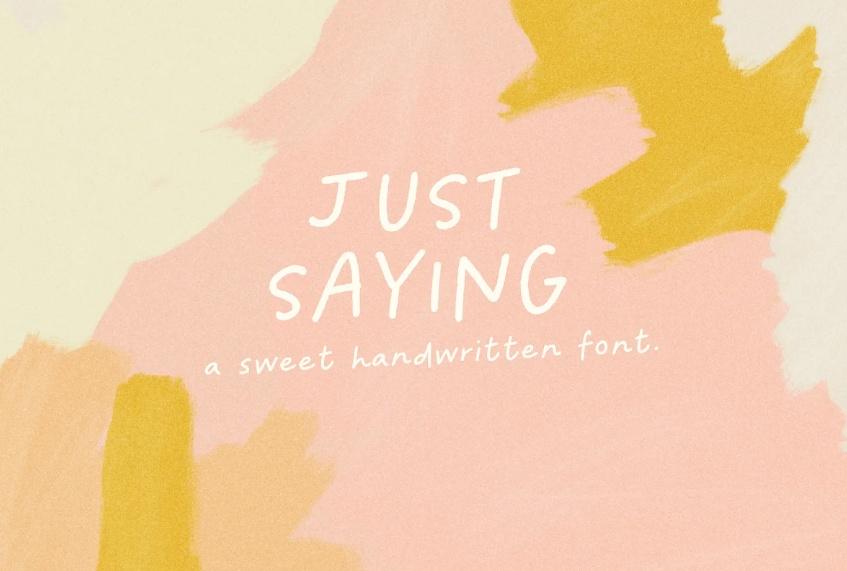Cute Branding Typeface