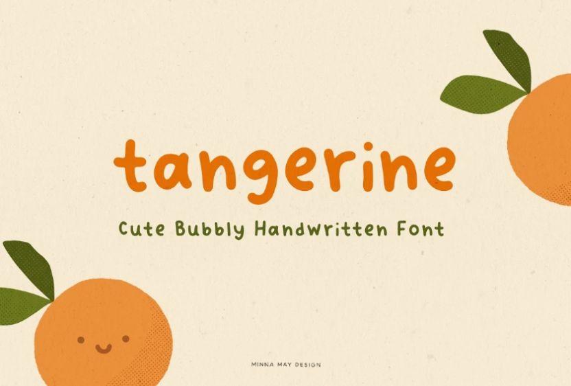 Cute Bubble Handwritten Fonts