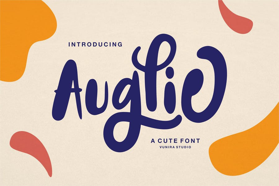 Cute Calligraphy Typeface
