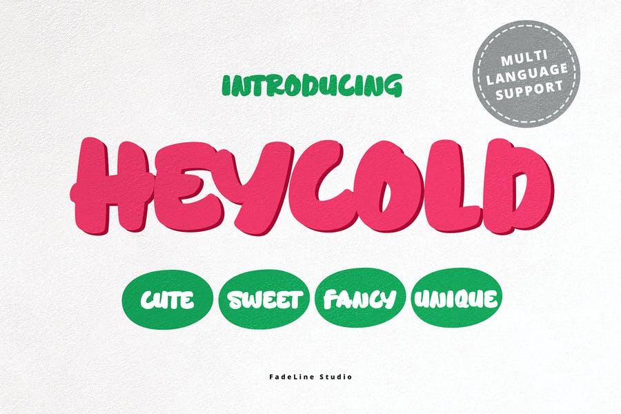 Cute and Unique Funny Fonts