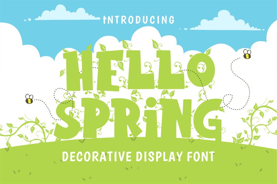 Decorative Style Spring Display