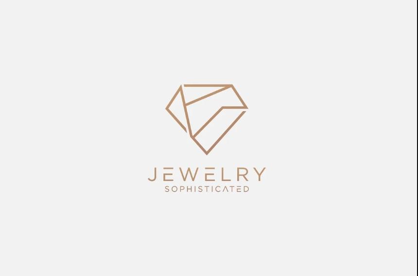 Diamond Shaped Jewelry Logo Designs