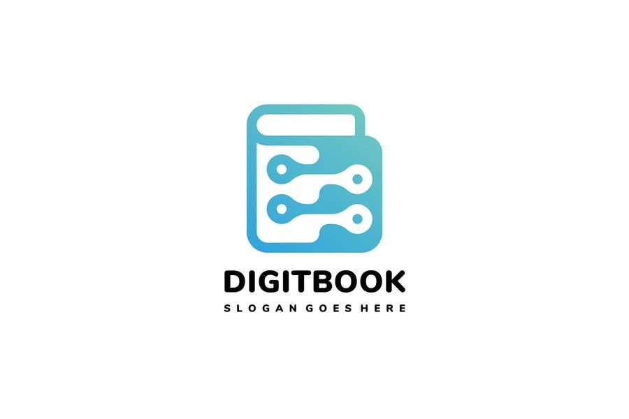 Digita; Book Logo Ideas