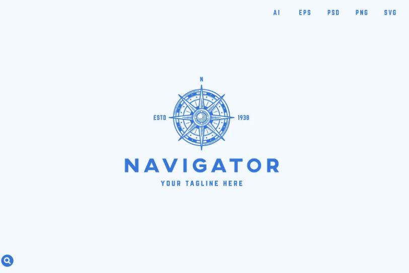 Direction Logo Design Template