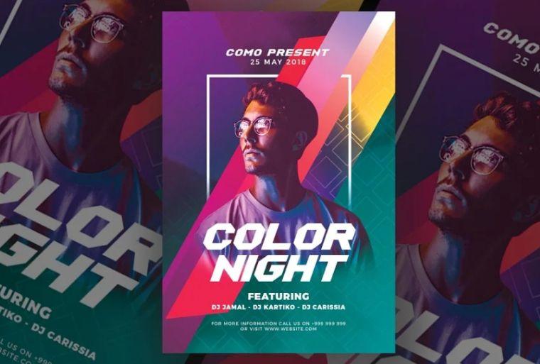 Dj Concert Flyer Templates