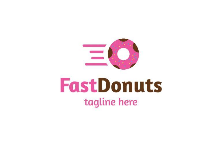 Donut Delivery Branding Design