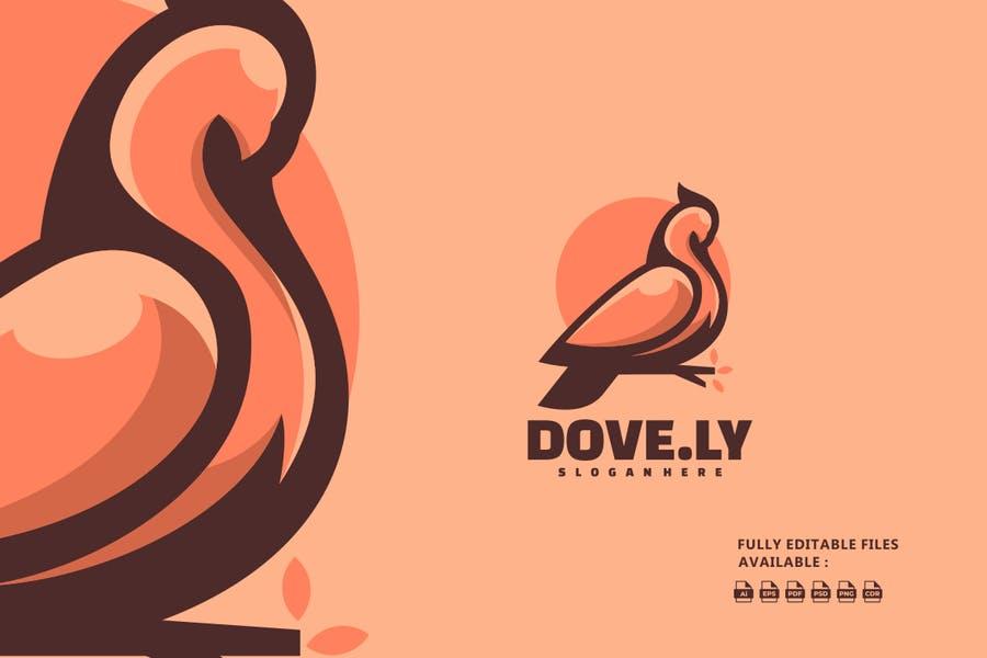Dove Logo Branding Design