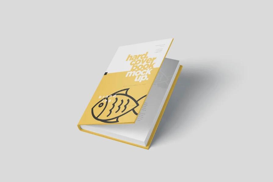Dust Jacket Cover Design Mockup