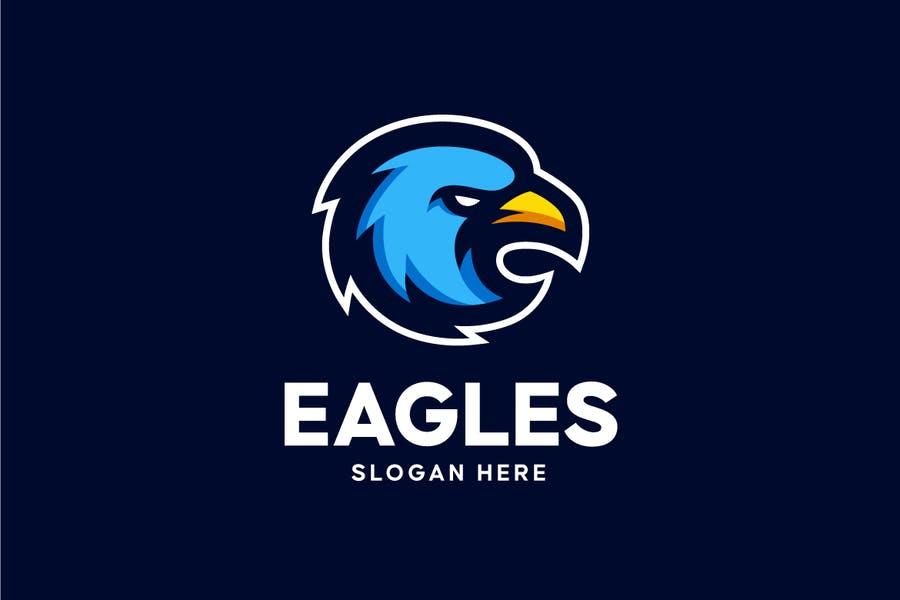 Eagle Face Logo Idea