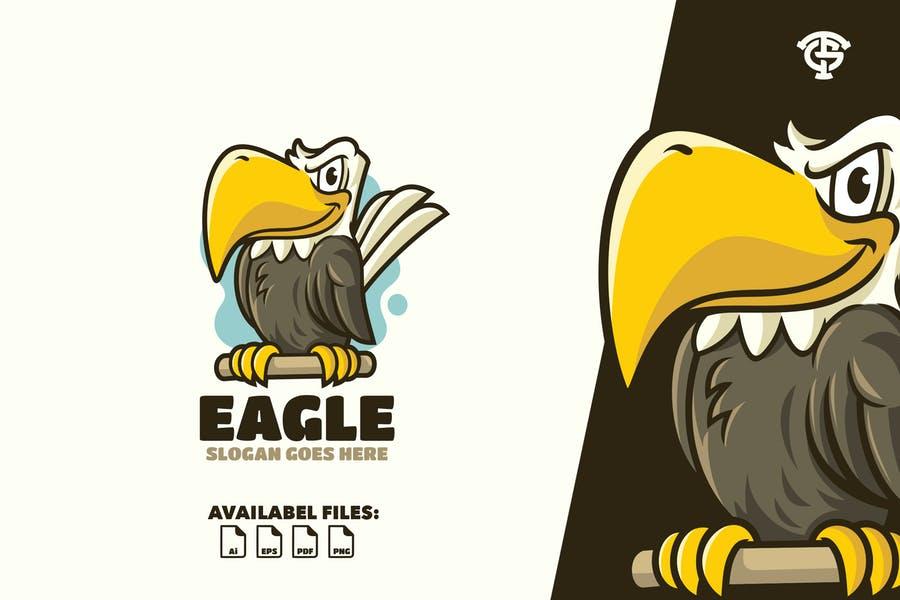 Eagle Logo Mascot Design