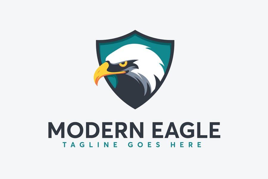Eagle Shield Logo Design