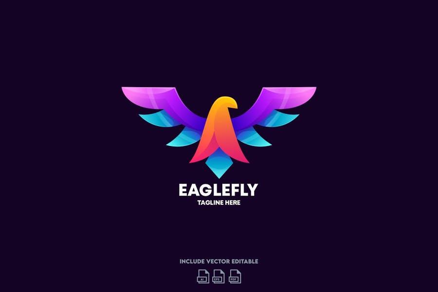 Eagle Wings Logo Template