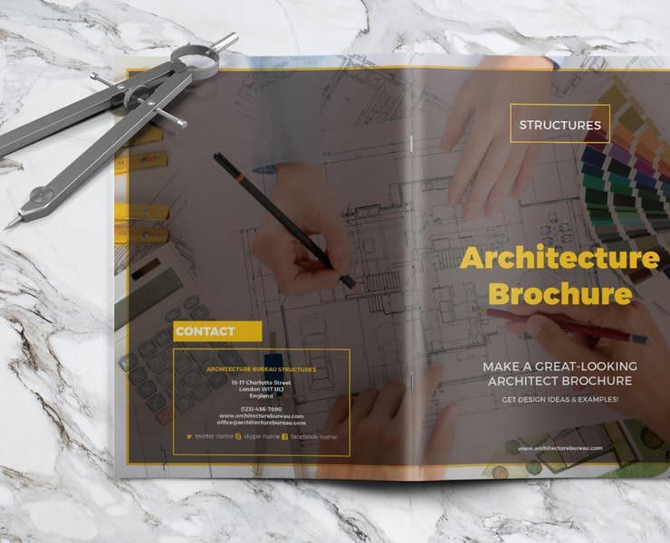 15+ Best Architecture Brochure Template Download
