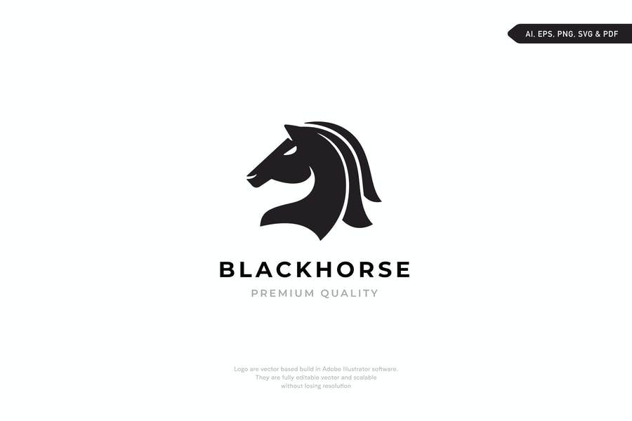 Easy Editable Horse Branding Template