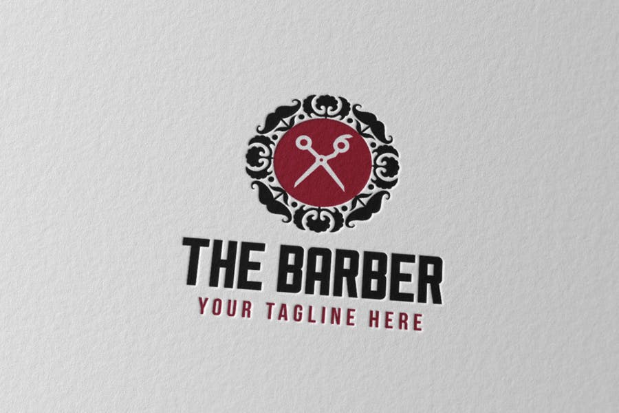 Barber Logo Identity Design