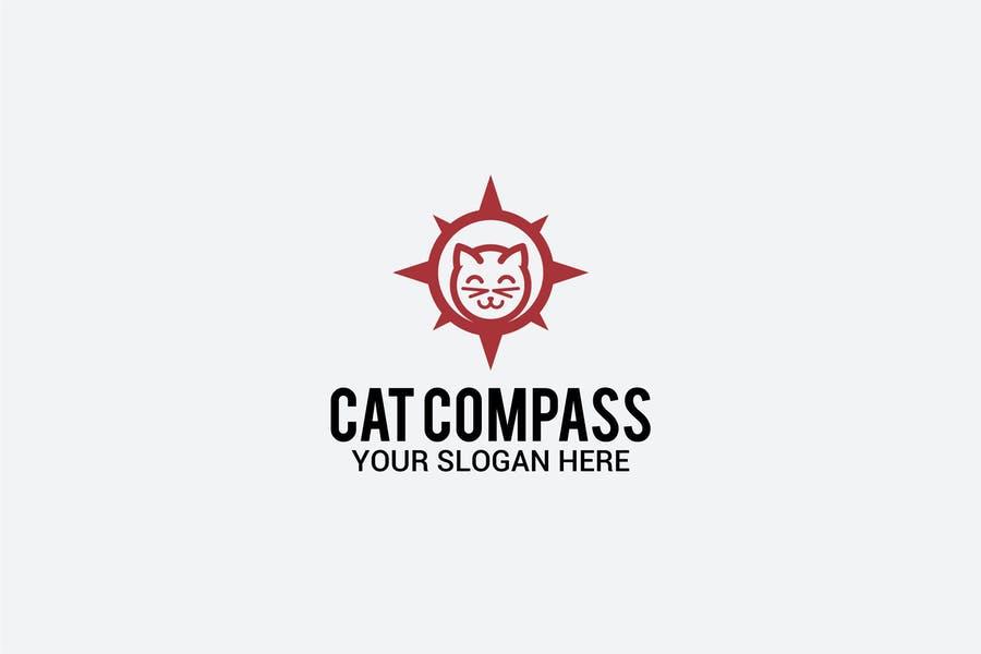 Editable Compass Logo Template