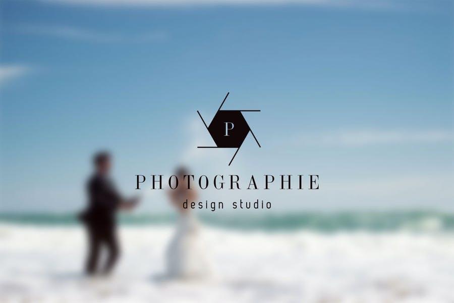 Editable Photo Studio Logo