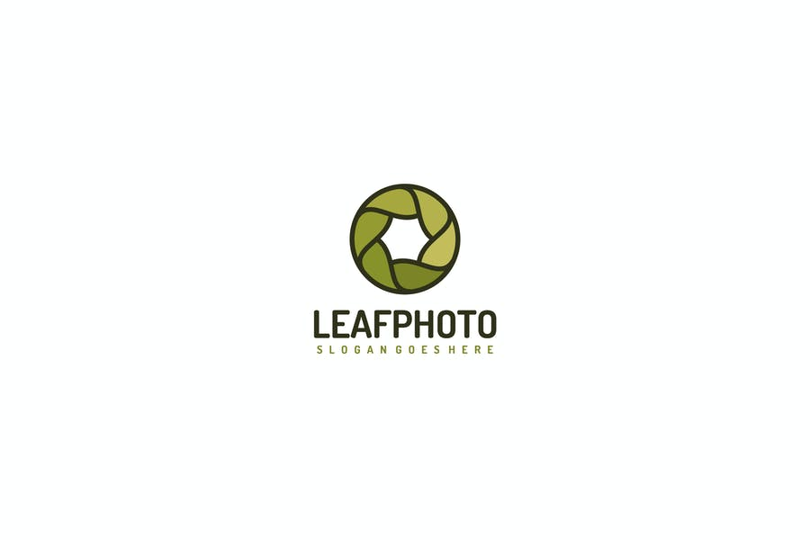 Editable Photography Logo Design