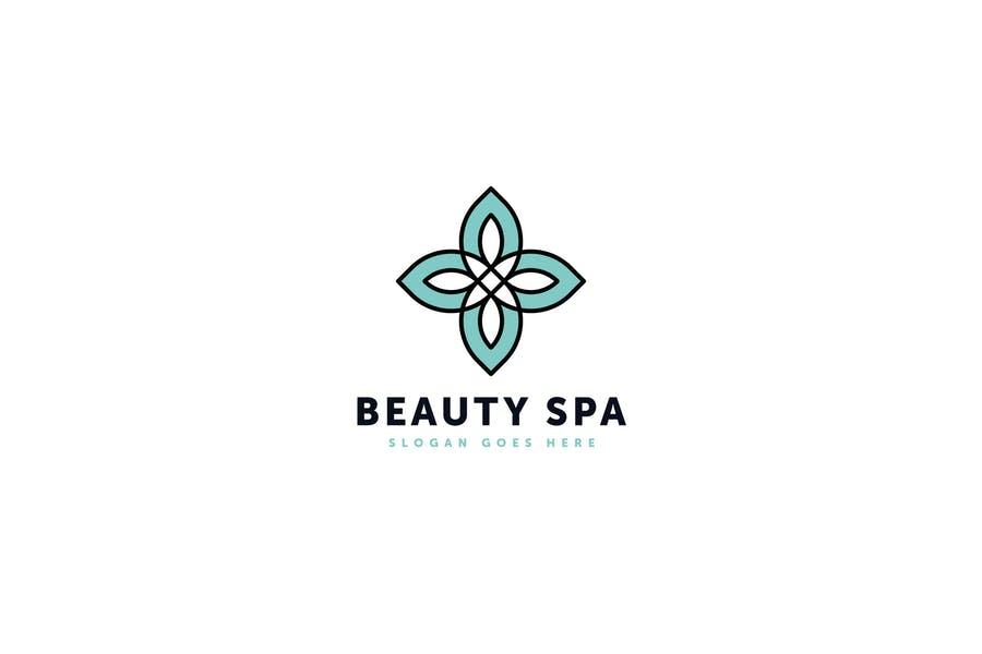 Editable Spa Logo Template