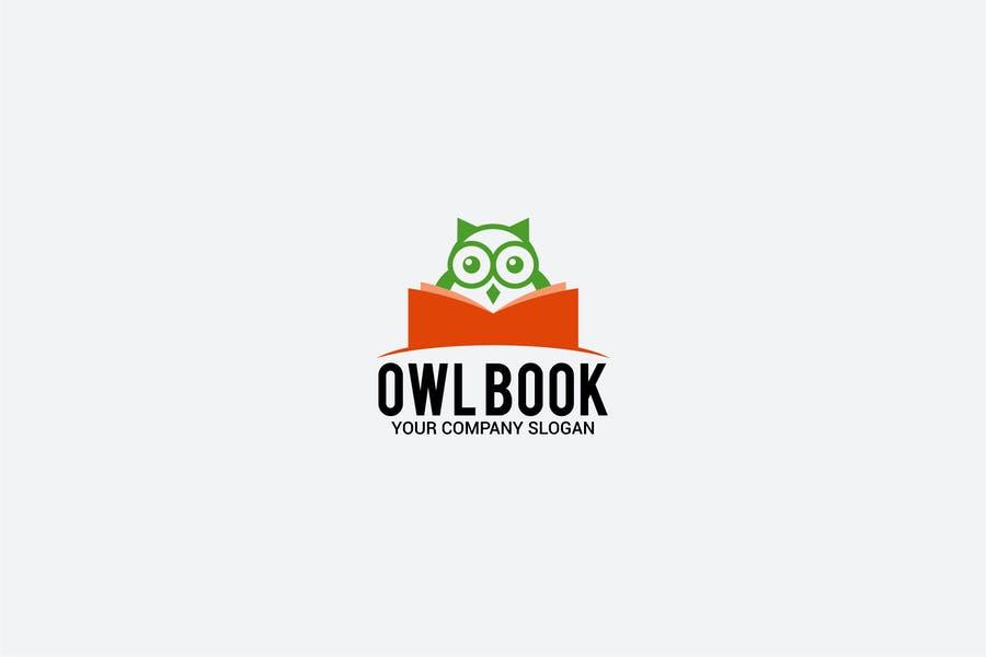 Editable and Scalable Book Logo Design