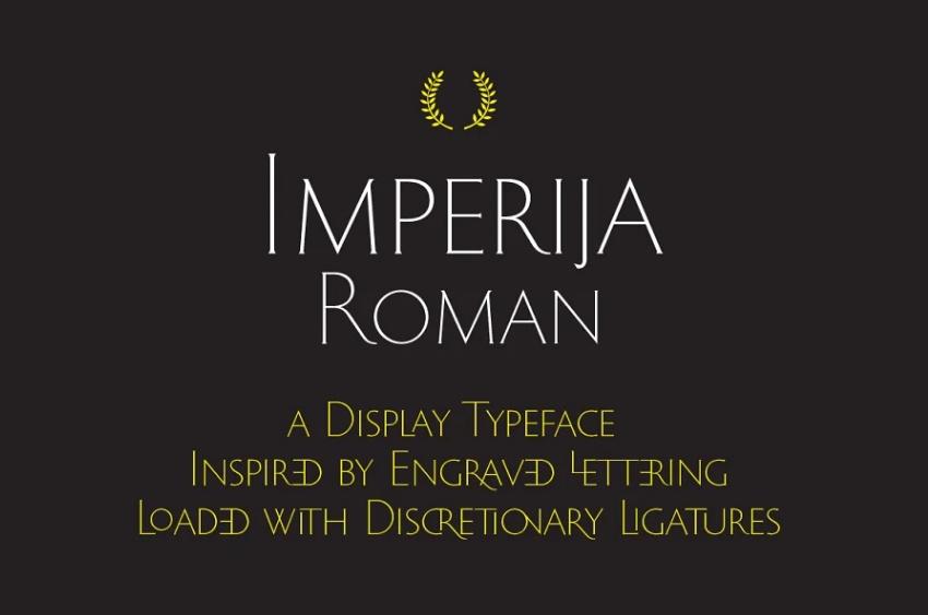 Editorial Ligature Typeface