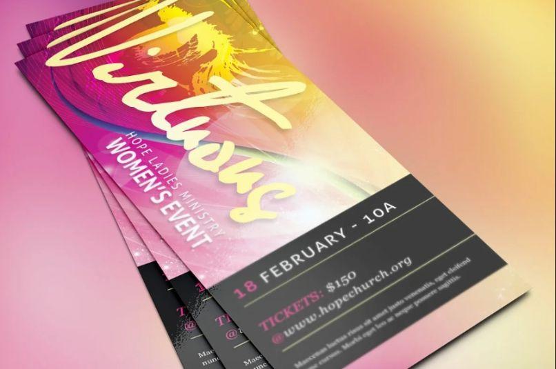 Elegant Church Event Flyer