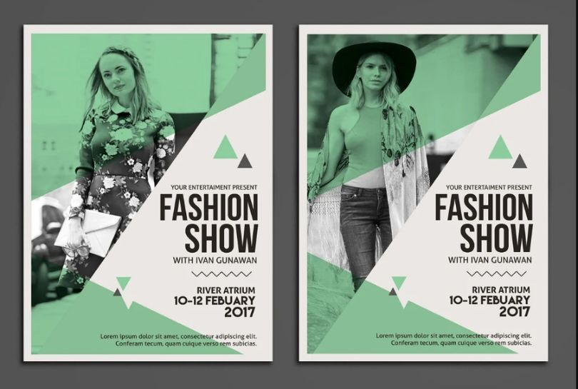 Elegant Clothing Fashion Flyer