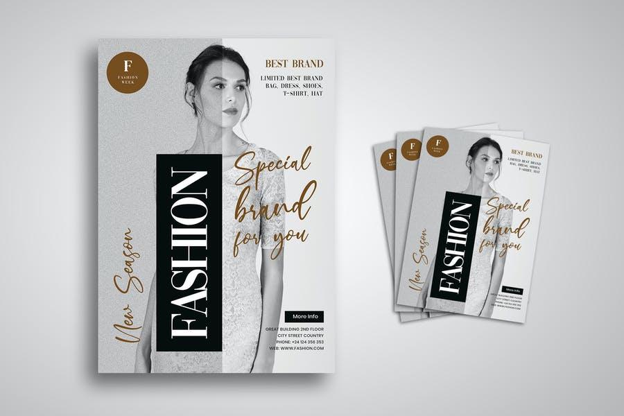 Elegant Fashion Flyer Templates