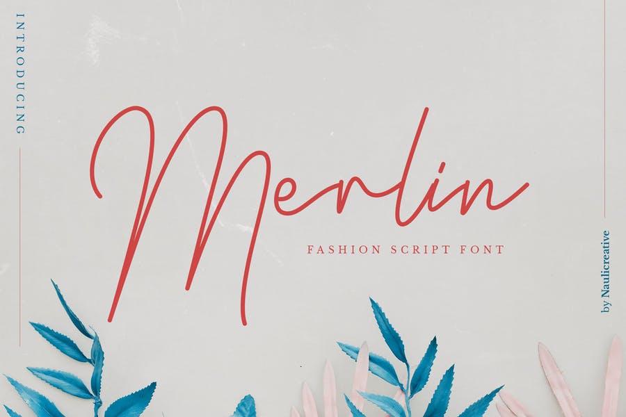 Elegant Fashion Scriot Font