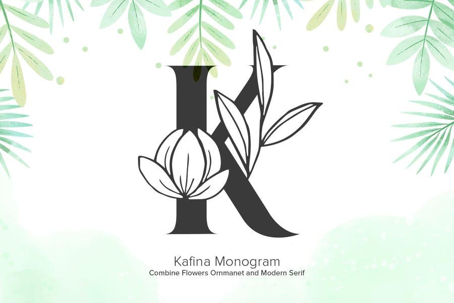 Elegant Floral Fonts