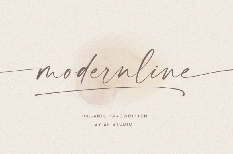 Elegant Handwritten Signature Fonts