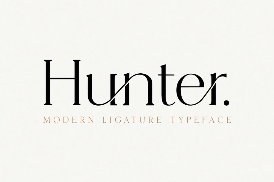 Elegant Ligature Style Fonts