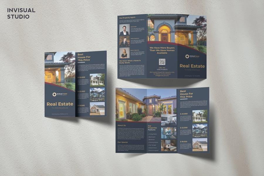 Elegant Real Estate Brochures